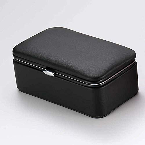 XLDYSC Jewelry Storage Box,Black Nordic Style Large Space Pu Leather Jewelry Box,Single Layer Bracelet Necklace Storage Ring Display Box Jewelry Box