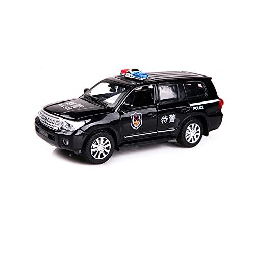 DEORBOB Legierung Spielzeug Zurückziehen Sportwagen Druckguss Sound Licht Supercar Miniatur-Trägheitsfahrzeug 1:32 Sammlerstücke Reibungsauto Kinderspielzeugautos für Jungen und Mädchen Weihnachten (B
