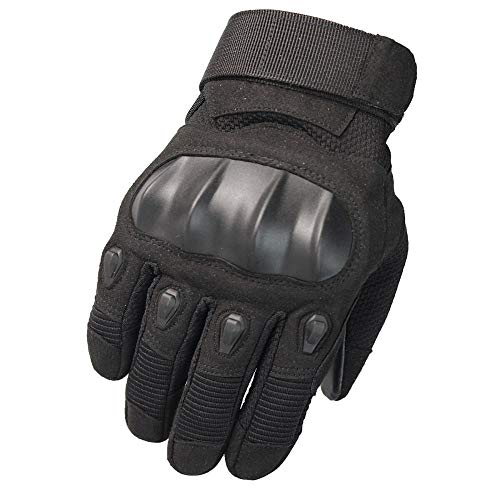 unbrand WEIERK Outdoor Touchscreen Motorrad Fitness Sport Taktische Handschuhe Klettern Kampf Kampf Handgelenk Winterhandschuhe A26