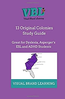 13 Original Colonies Study Guide: Great for the ADHD Students