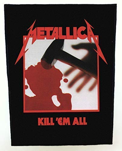 Licensed Metallica Kill'em All Giant Rückenpatch 360mm X 300mm ( Rz )