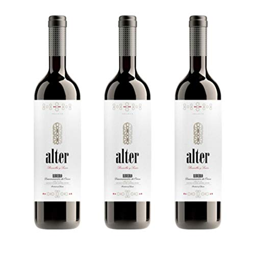 Alter Vino tinto Ribeiro - 3 botellas x 750ml - total: 2250 ml