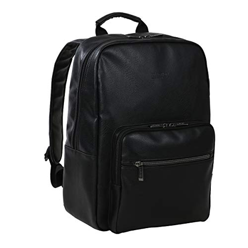 Kenneth Cole Reaction Lightweight Faux Leather Collection, 15' Laptop Backpack, One Size