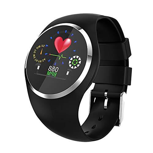 Jian E Multifunctioneel kleurendisplay Smart armband bloeddrukhartslag slaapsporthorloge mannen en vrouwen modellen Bluetooth waterdicht lopen pedometer universeel, B