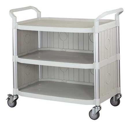 Raleigh Mall 400 Lb online shopping Load Capacity Polypropylene Cart Service Enclosed Fiber