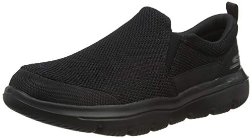 Skechers Men's GO Walk Evolution Ultra-Impeccable Sneaker, Black, 9 M US