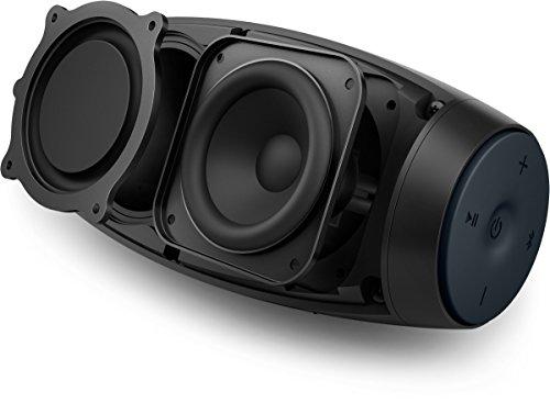Philips EverPlay BT6900B Altoparlante Wireless Bluetooth Impermeabile, Portatile, Ricaricabile, con Microfono, Leggero, Nero