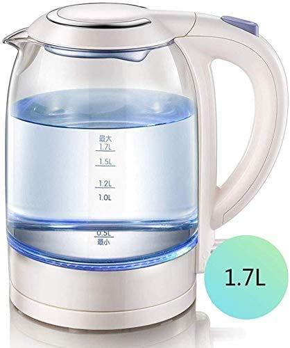 ZJDECR Home Glas Jug, grote capaciteit Electric Kettle automatisch uitschakelen Boiling Water theepot 1.7L waterkoker Waterkoker