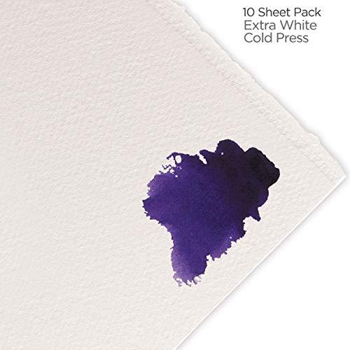 Fabriano Artistico Watercolor Paper 140 lb. Cold Press 10-Pack 22x30' - Extra White