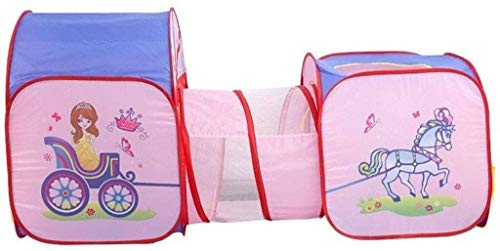 SMLZV Children Tent,Children's Indoor Tent,Cartoon Play Cabin,Tulle Tunnel,Kids Playhouse for Indoor and Outdoor,Children Play Tents Ball Pit
