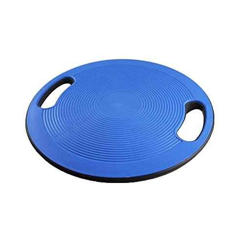 YYDZ Balance Board – Non Slip Balance Board with Side Handles – Balance Rehab Cushion, Great for Improving Posture, Core Exercise – Physical Therapy Xx (Color : Blue)