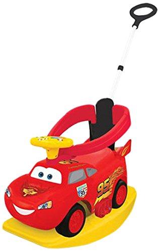 Cars - 0706006 - Porteur - MC Queen - 4 en 1 Ride-on