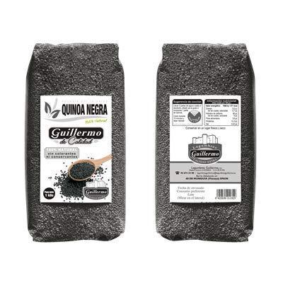 Guillermo - Semillas de Quinoa Negras - Apuesta Por la Salud - Calidad Extra- 1 KG