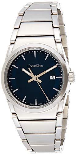 Calvin Klein Herren Analog Quarz Uhr mit Edelstahl Armband K6K3314L
