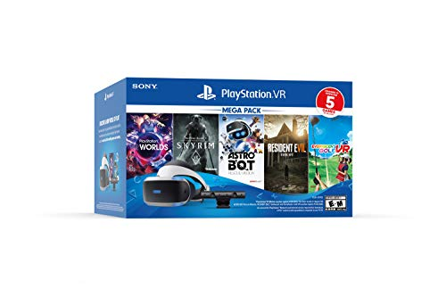 Playstation VR Bundle Five Game Pack