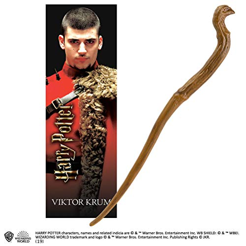 The Noble Collection Victor Krum 30cm PVC Zauberstab mit prismatischem ...