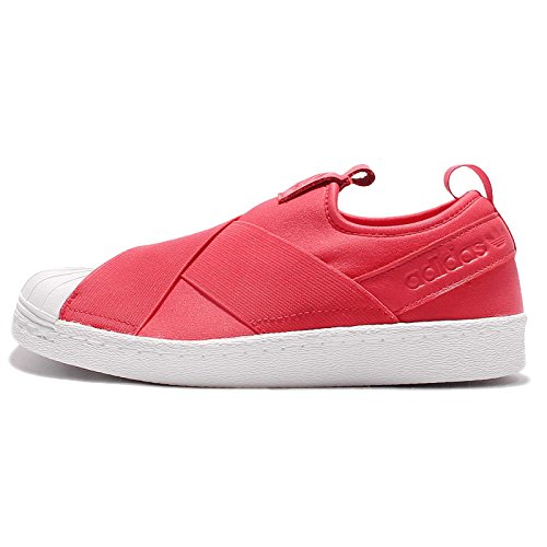 Adidas Superstar Slip-on Trainers, Zapatillas Deportivas para Interior Mujer, Multicolor (Multicolour Red), 36 2/3 EU