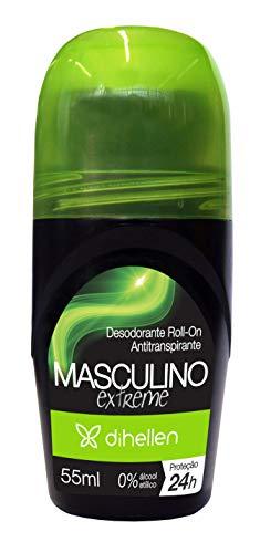 Desodorante Roll-on Masculino Extreme, Di Hellen Cosméticos
