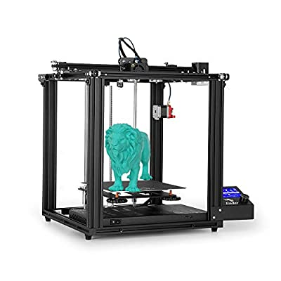 Creality Ender 5 pro 3D Printer Upgrade Silent Mainboard Pre-Installed Magnetic Plate Power Off Resume Printing Enclosed Structure 220x220x300