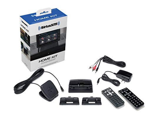 SiriusXM SXDH4 Interoperable Home Kit - Home Kit for Dock & Play for Sirius & SXM Models + Tour