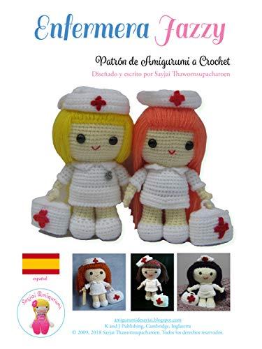 Enfermera Jazzy: Patrón de Amigurumi a Crochet