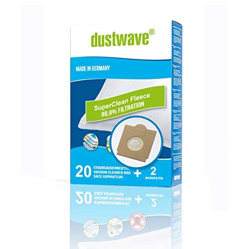 40bolsas de aspiradora + 4filtro adecuado para Adix (Aldi)–Si 106de dustwave® Calidad del producto fabricado en Alemania