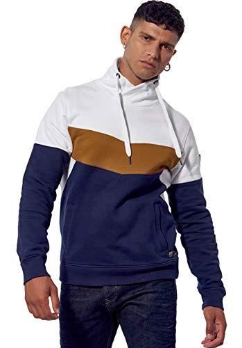 Kaporal - Sweat régular Homme molletonné en 100% Coton - Rest - Homme - XL - Bleu