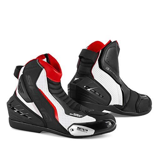 Botas de moto de piel para hombre SHIMA SX-6 Vented