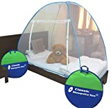 Classic Mosquito Net Foldable (Single Bed) (Blue)