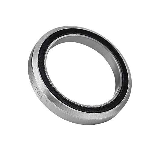 Rodamientos para auriculares de bicicleta, rodamientos de rueda de anillo de acero Rodamientos de vástago de dirección Accesorio de reparación individual Anillo de acero para bicicleta(52mm)