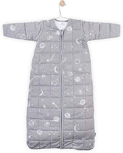 Jollein Galaxy slaapzak, mouwloos, 110 cm, grijs