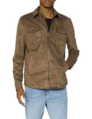 Sisley Jacket Chaqueta, Tarmac 0f4, 50 para Hombre