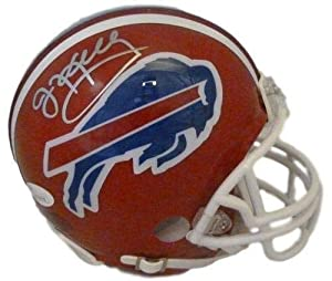 Jim Kelly Autographed/signed Buffalo Bills 11941 Riddell Mini Helmet Jsa
