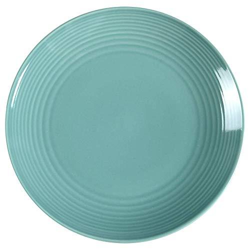 Royal Doulton Gordon Ramsay Assiette rainurée Bleu Sarcelle 22 cm