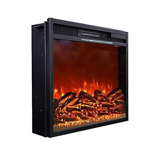 XDT Elektrischer Einbaukamin 3D-Flammeneffekt Kaminofen Mit Flammensimulation Und...