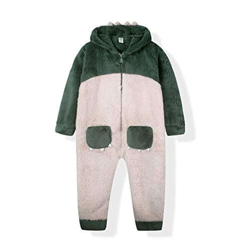 ZYSWP GEIWOKAI Stitch Kids Pijamas Pijamas para niños Manta de Dibujos Animados de Animales Traje de bebé Invierno Niño Niña Ropa de Dormir para niños (Size : 160cm)