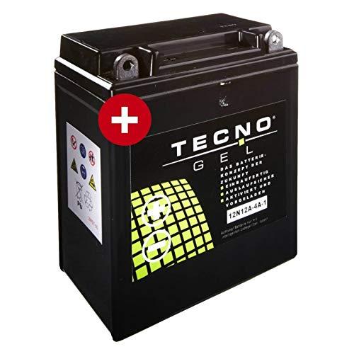 Tecno YB12A-A Gel Batterie GPX 600 R 1993-1999