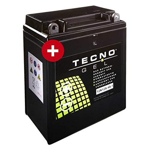 Tecno YB12A-A Gel Batterie CB 400 N Euro 1978-1985