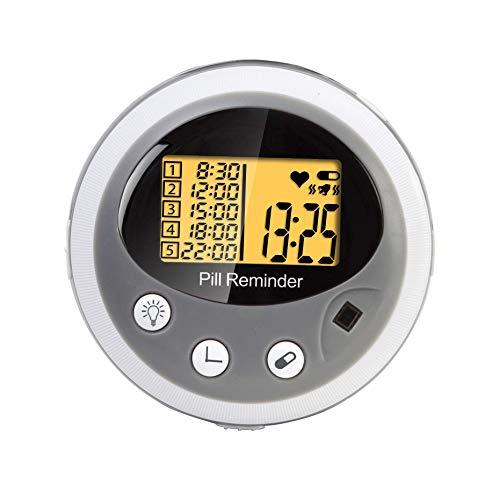 Elektronische pillendoos met alarm en klok
