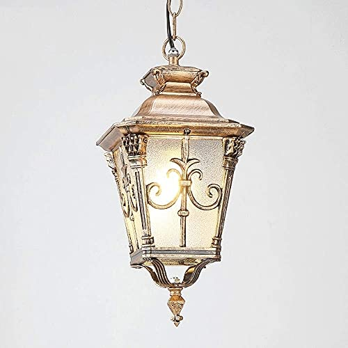 IP55 impermeable para interiores/al aire libre lámpara de araña vintage europeo lámpara colgante antiguo colgante rural luz vinyard gazebo decoración iluminación fijación e27 edison