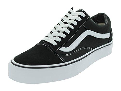 Vans Old Skool Classic Suede/Canvas, Sneaker Unisex - Adulto, Nero (Black/White), 39 EU