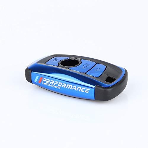 Cubierta de la Caja de la Llave del Coche para BMW 520525 f30 f10 F18 118i 320i 1 3 5 7Series X3 X4 M3 M4 M5 E34 E90 E60 E36 Fob Llavero Car Styling Azul