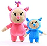 ZHNGG A 20/30cm Pair of Billy and Bam Plush Toys, Red and Green Cartoon Anime Plush Dolls for Children, Babies, Kids Birthday Gifts