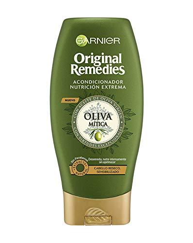 Garnier Original Remedies Acondicionador Nutrición Extrema Oliva Mítica, para Pelo Reseco y Sensibilizado - 250 ml