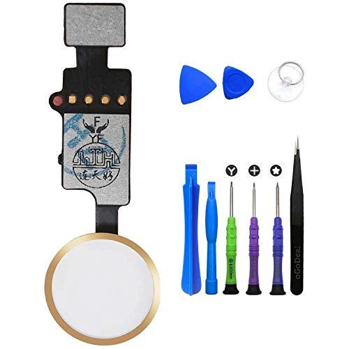 oGoDeal - Repuesto del botón Home, botón de Inicio con Cable Flex...