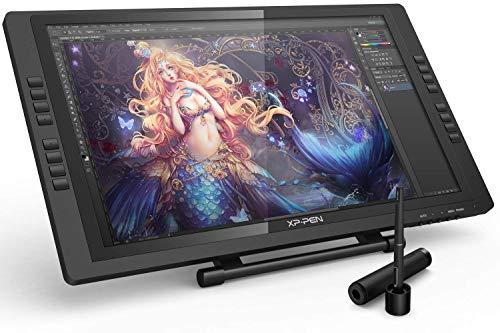 XP-PEN Artist 22E PRO Tablette Graphique avec Ecran 22 Pouces Moniteur de Dessin IPS HD avec 16 Raccourci et Support Ajustable Stylet à 8192 Niveaux