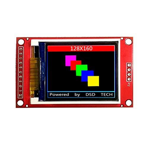 DSD TECH Modulo display LCD TFT da 1,8 pollici con interfaccia SPI per Arduino e MCU