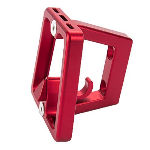 SM SunniMix Adaptador de Bloque de Portador de Bicicleta Plegable para Brompton - Rojo