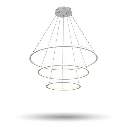 5151BuyWorld kroonluchter moderne LED woonkamer eetkamer hanglampen hanglamp Suspendu geleide ring verlichting lamp houder de Techo Colgante Home woonkamer slaapkamer eetkamer kantoor / / /