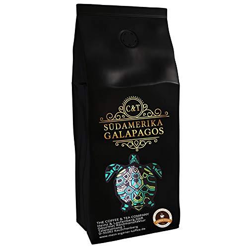Kaffeespezialität Aus Südamerika - Galapagos, Dem Speziellen Ökosystem Der Inseln (1000 Gramm,Ganz Bohne) - Länderkaffee - Spitzenkaffee - Säurearm - Schonend Und Frisch Geröstet